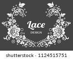lace border design | Shutterstock .eps vector #1124515751