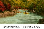 Lazy River In Waterpark On...