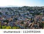 albaic n district  granada ... | Shutterstock . vector #1124592044