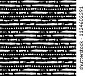 black watercolor stripes on a... | Shutterstock .eps vector #1124602391