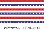 american president day abstract ... | Shutterstock .eps vector #1124608181