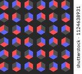 gradient pattern  vector | Shutterstock .eps vector #1124638931