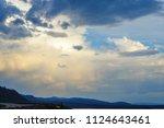 A Sunset Over Lake Yellowstone...