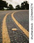 asphalt street up close | Shutterstock . vector #1124644274
