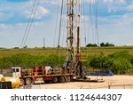 oil and gas facilities | Shutterstock . vector #1124644307