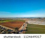 bay area aerial images santa... | Shutterstock . vector #1124649317