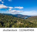 bay area aerial images santa... | Shutterstock . vector #1124649404