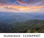 bay area aerial images santa... | Shutterstock . vector #1124649407
