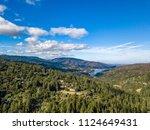 bay area aerial images santa... | Shutterstock . vector #1124649431