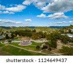 bay area aerial images santa... | Shutterstock . vector #1124649437
