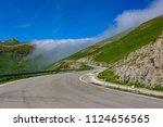 larrau pyrenees port spanish... | Shutterstock . vector #1124656565