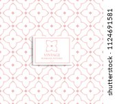 pink and white geometric... | Shutterstock .eps vector #1124691581
