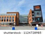 detroit  mi   usa   october 21  ... | Shutterstock . vector #1124728985