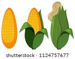 A Set Of Organic Corn...