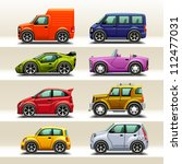 car icon set 2 | Shutterstock .eps vector #112477031