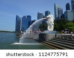 singapore june 17  2018 ... | Shutterstock . vector #1124775791