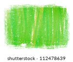 Green Abstract Hand Painted...