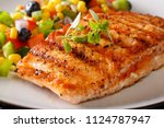 Grilled Salmon Fillet With...