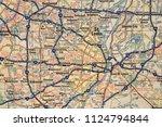 st. louis on usa map | Shutterstock . vector #1124794844
