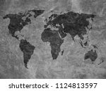 old map background | Shutterstock . vector #1124813597