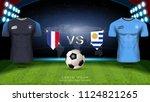 football cup 2018 world...   Shutterstock .eps vector #1124821265