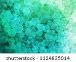 light green vector abstract... | Shutterstock .eps vector #1124835014