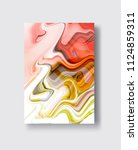 abstract vector ink background. ...   Shutterstock .eps vector #1124859311