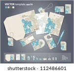 vector corporate design for... | Shutterstock .eps vector #112486601