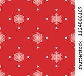 seamless vector decorative... | Shutterstock .eps vector #1124866169