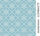 seamless vector decorative... | Shutterstock .eps vector #1124866175