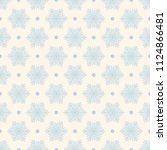 seamless vector decorative... | Shutterstock .eps vector #1124866481