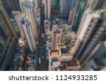 modern city skyline panorama in ... | Shutterstock . vector #1124933285