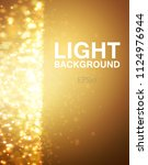 lights on yellow background...   Shutterstock .eps vector #1124976944
