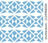 abstract seamless pattern of... | Shutterstock .eps vector #1124986034