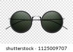 sun glasses isolated on a...   Shutterstock .eps vector #1125009707