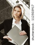 Young Businesswoman With A...
