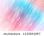 light blue  red vector pattern... | Shutterstock .eps vector #1125041897