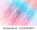 light blue  red vector pattern... | Shutterstock .eps vector #1125041897