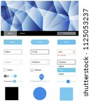 light pink  blue vector design...