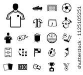 soccer  football sport icons... | Shutterstock .eps vector #1125105251