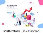 balance financial value ... | Shutterstock . vector #1125109964