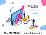 auditing  business analysis... | Shutterstock . vector #1125111314