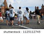 moscow  russia   june 29  2018  ... | Shutterstock . vector #1125112745