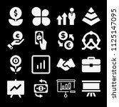 filled business icon set such...   Shutterstock .eps vector #1125147095