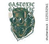 gas toxic light illustration | Shutterstock .eps vector #1125152561
