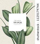 greeting invitation card ... | Shutterstock .eps vector #1125179744
