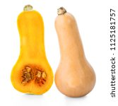 Butternut Squash Isolated On...