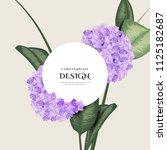greeting invitation card ... | Shutterstock .eps vector #1125182687