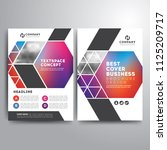 business cover brochure... | Shutterstock .eps vector #1125209717