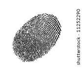 finger print | Shutterstock . vector #11252290